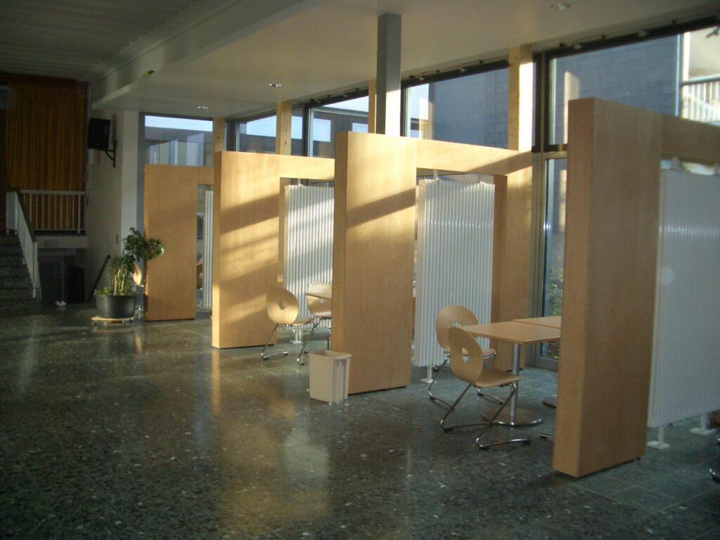 Akustikbau Schule Northeim von Hildebrand